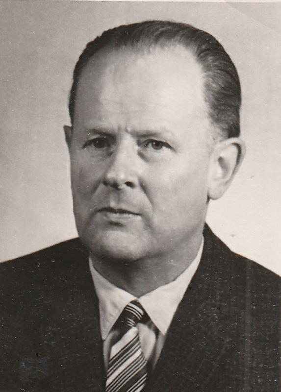 Master carpenter Rudolf Petzold